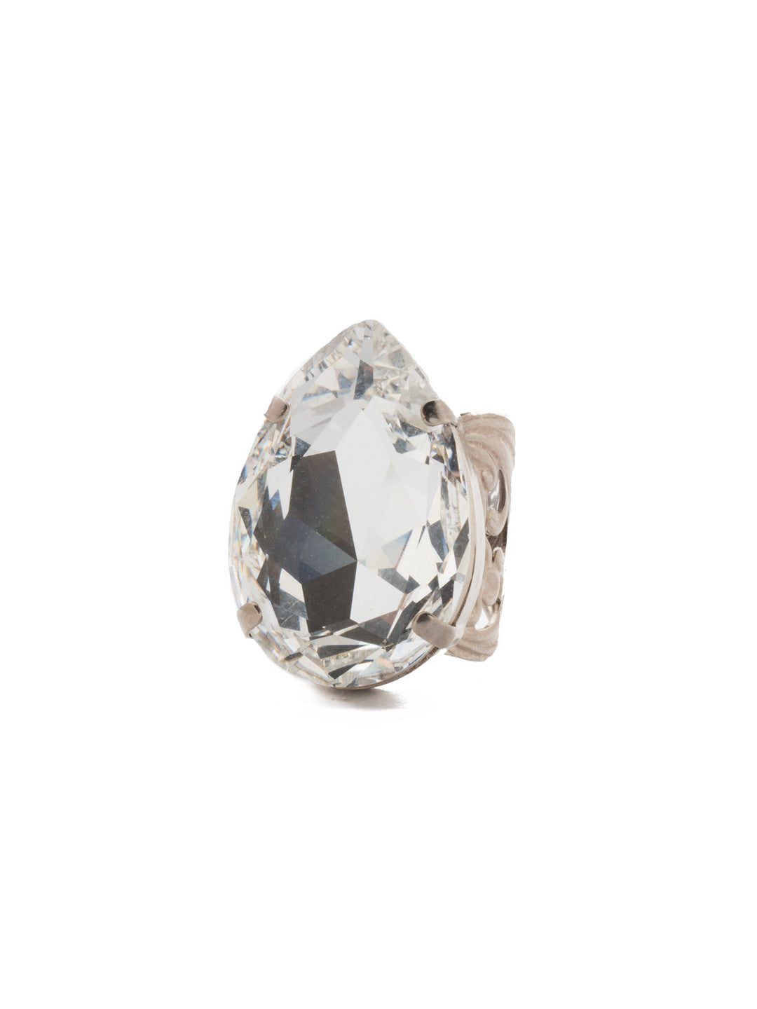 Teardrop Cocktail Ring - RCM25ASGLC