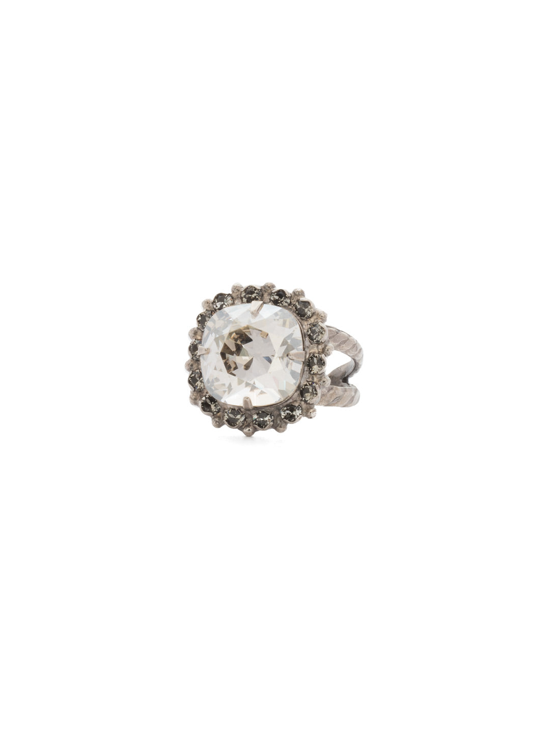 Cushion-Cut Cocktail Ring - RCR112ASCRO