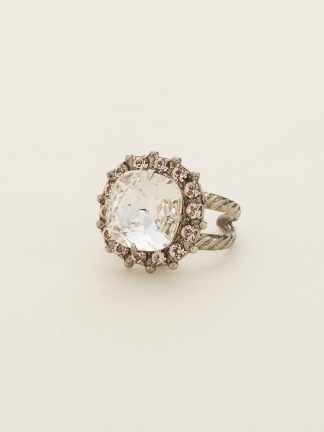 Cushion-Cut Cocktail Ring - RCR112ASSNB