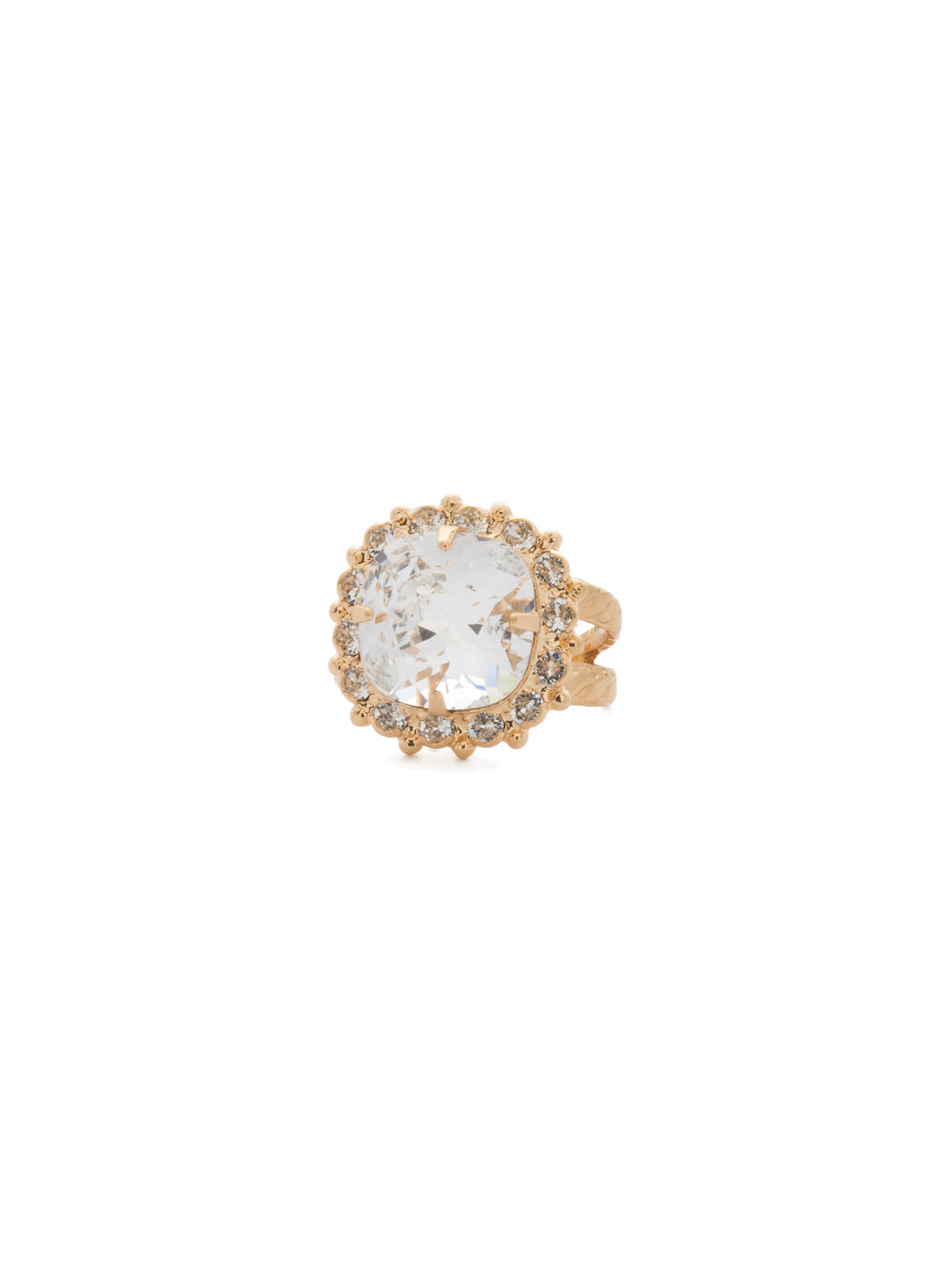 Cushion-Cut Cocktail Ring - RCR112BGCRY