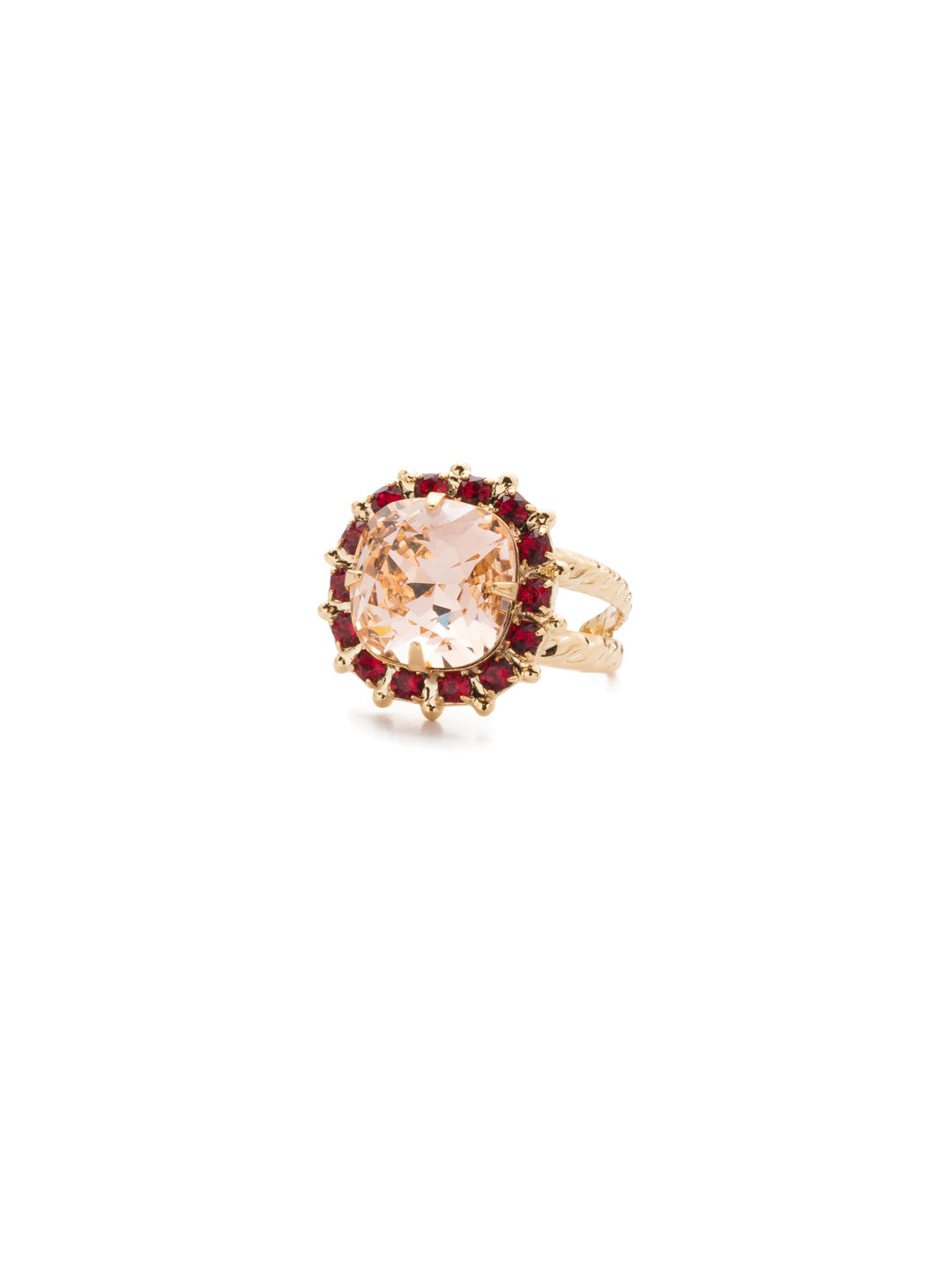 Cushion-Cut Cocktail Ring - RCR112BGSRC