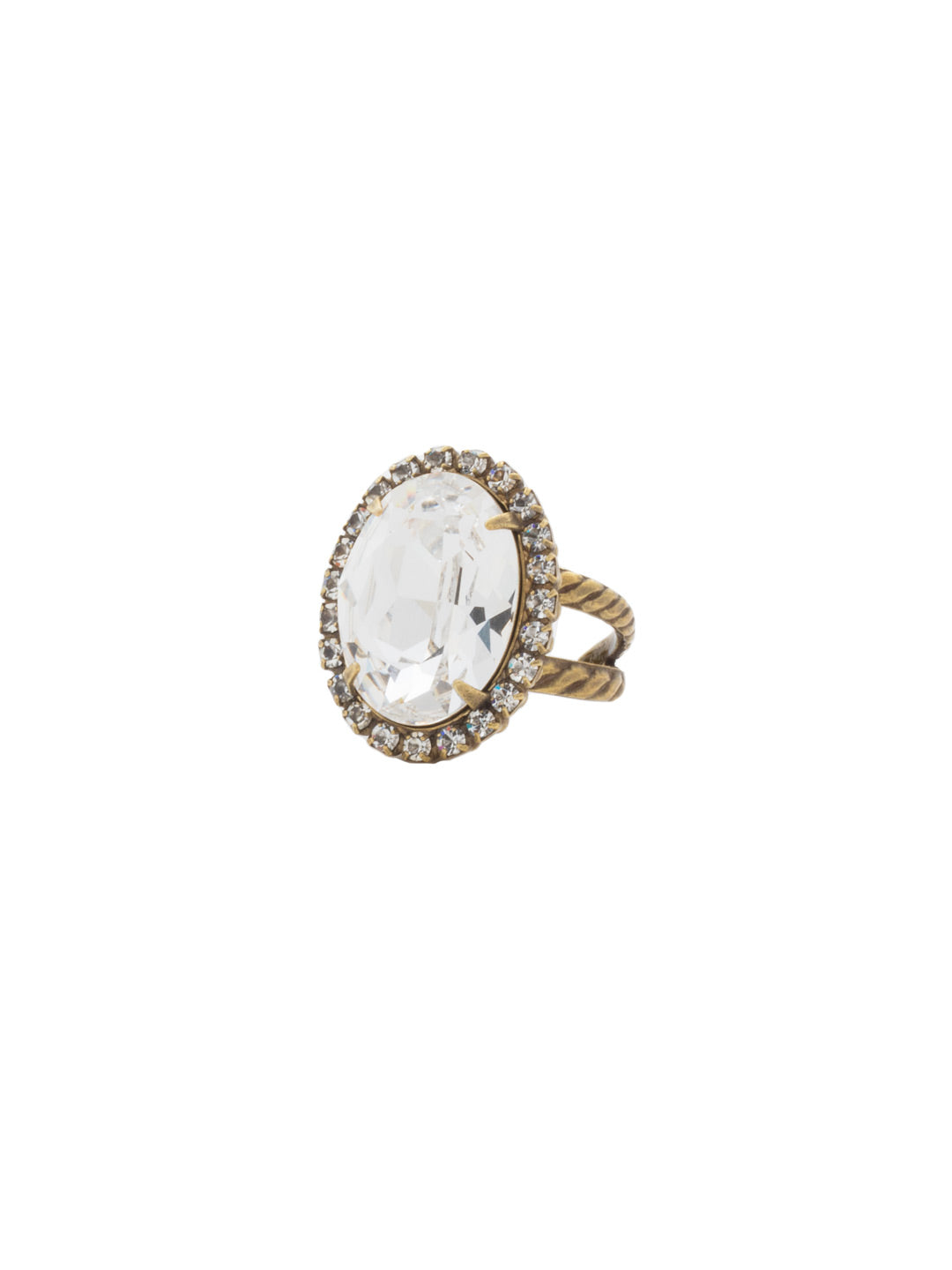 Classic Oval Cut Ring - RDG70AGCRY
