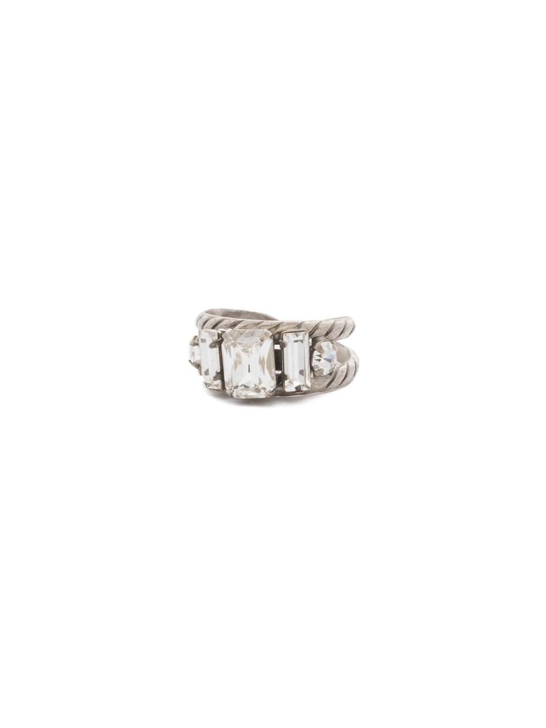Petite Geo Band Ring - RDG78ASCRY