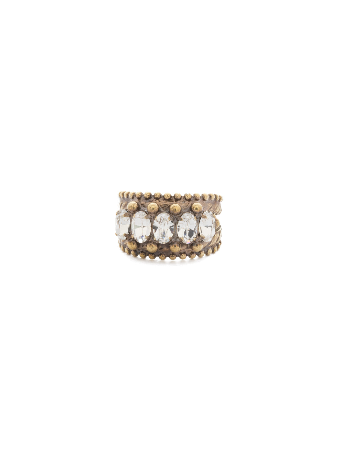 Crown Jewel Cocktail Ring - RDH2AGCRY