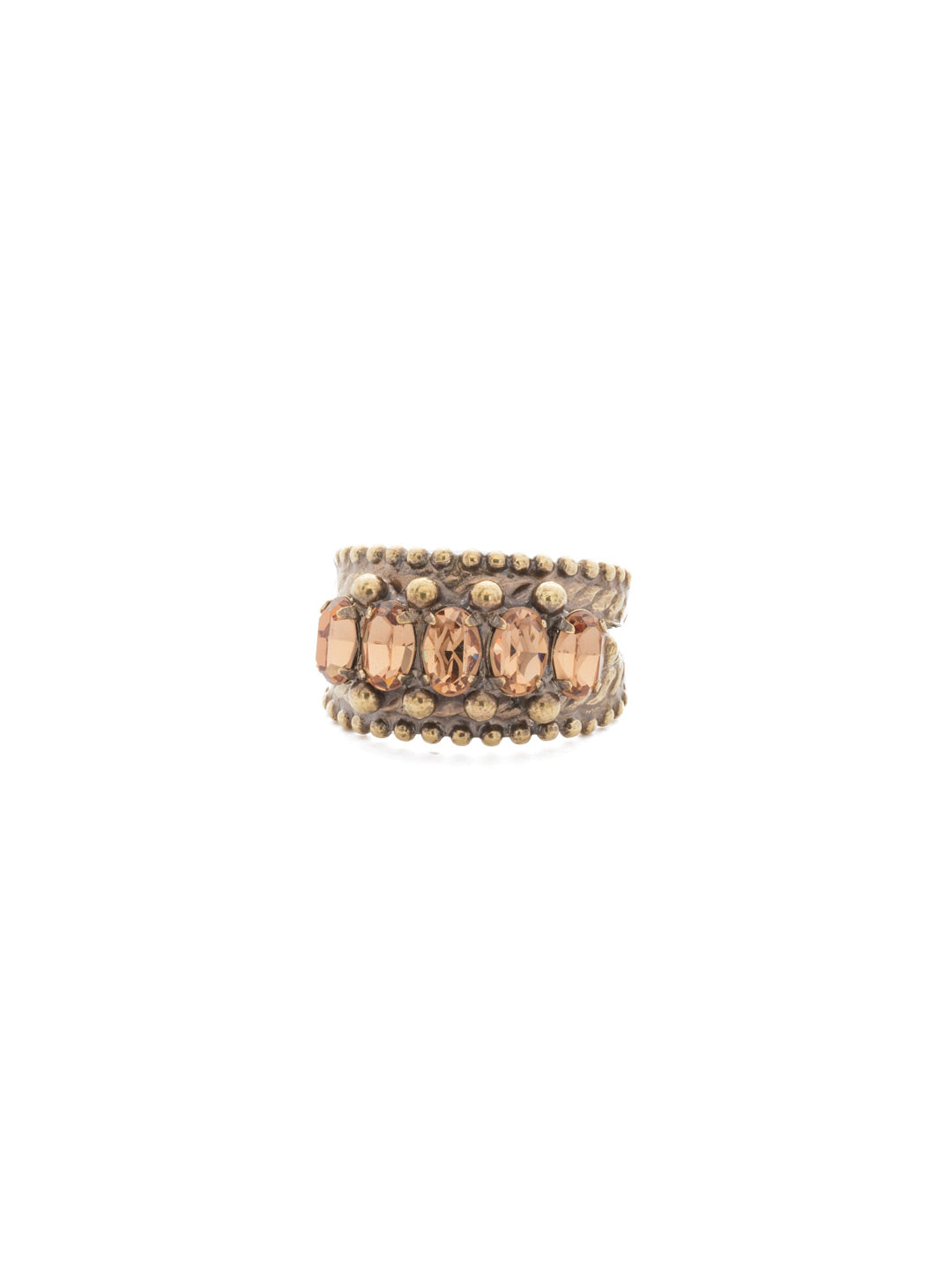 Crown Jewel Cocktail Ring - RDH2AGNT