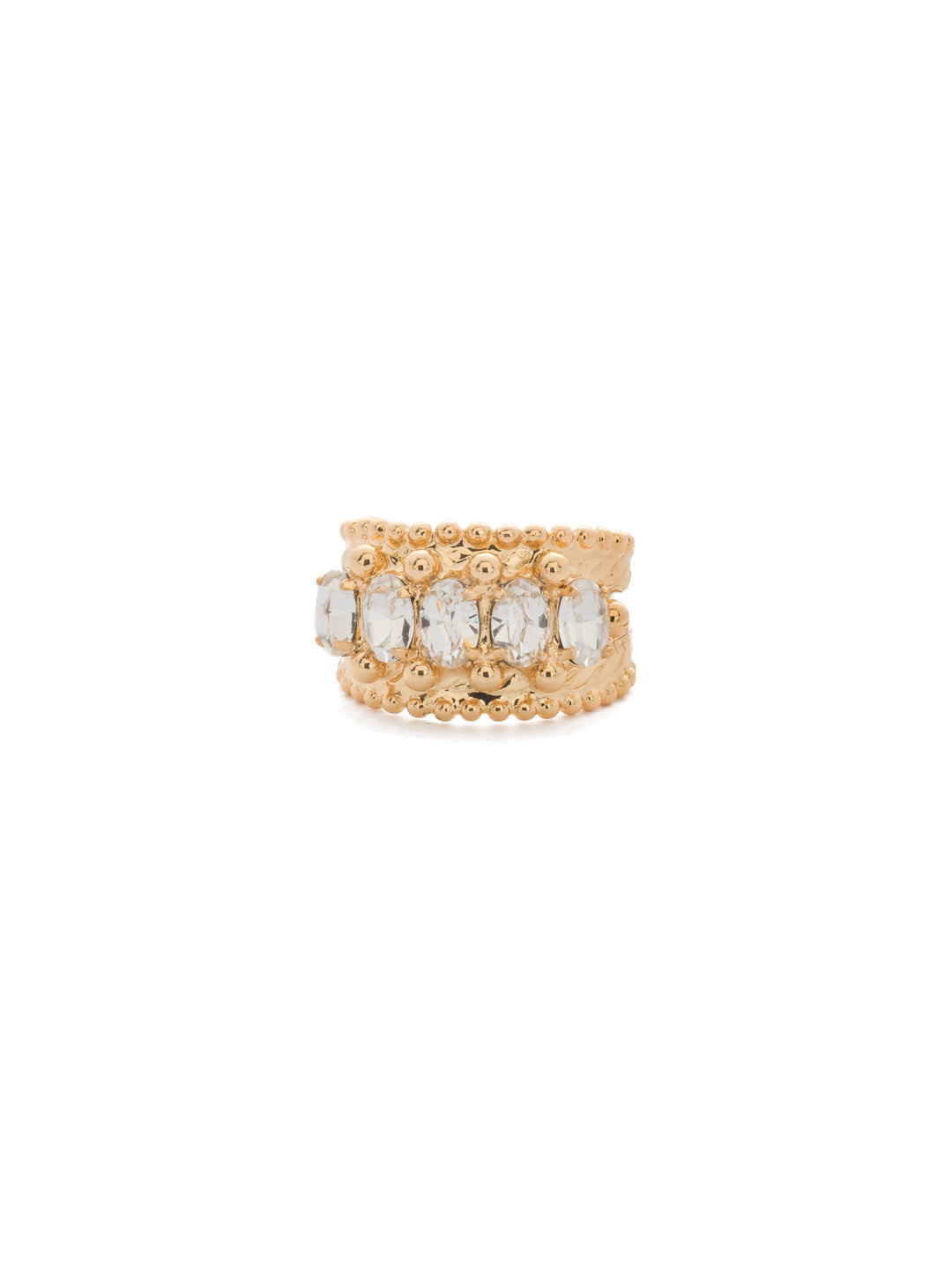Crown Jewel Cocktail Ring - RDH2BGCRY