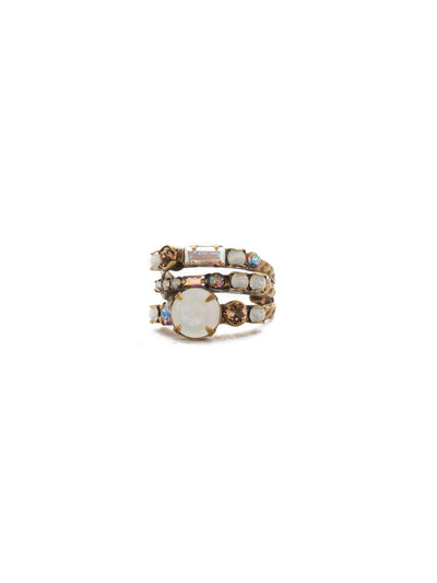 Triple Threat Stacked Ring - RDK23AGROB