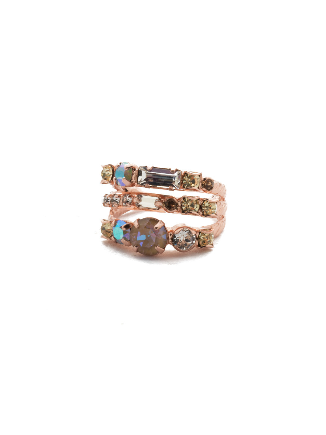 Triple Threat Stacked Ring - RDK23RGROG