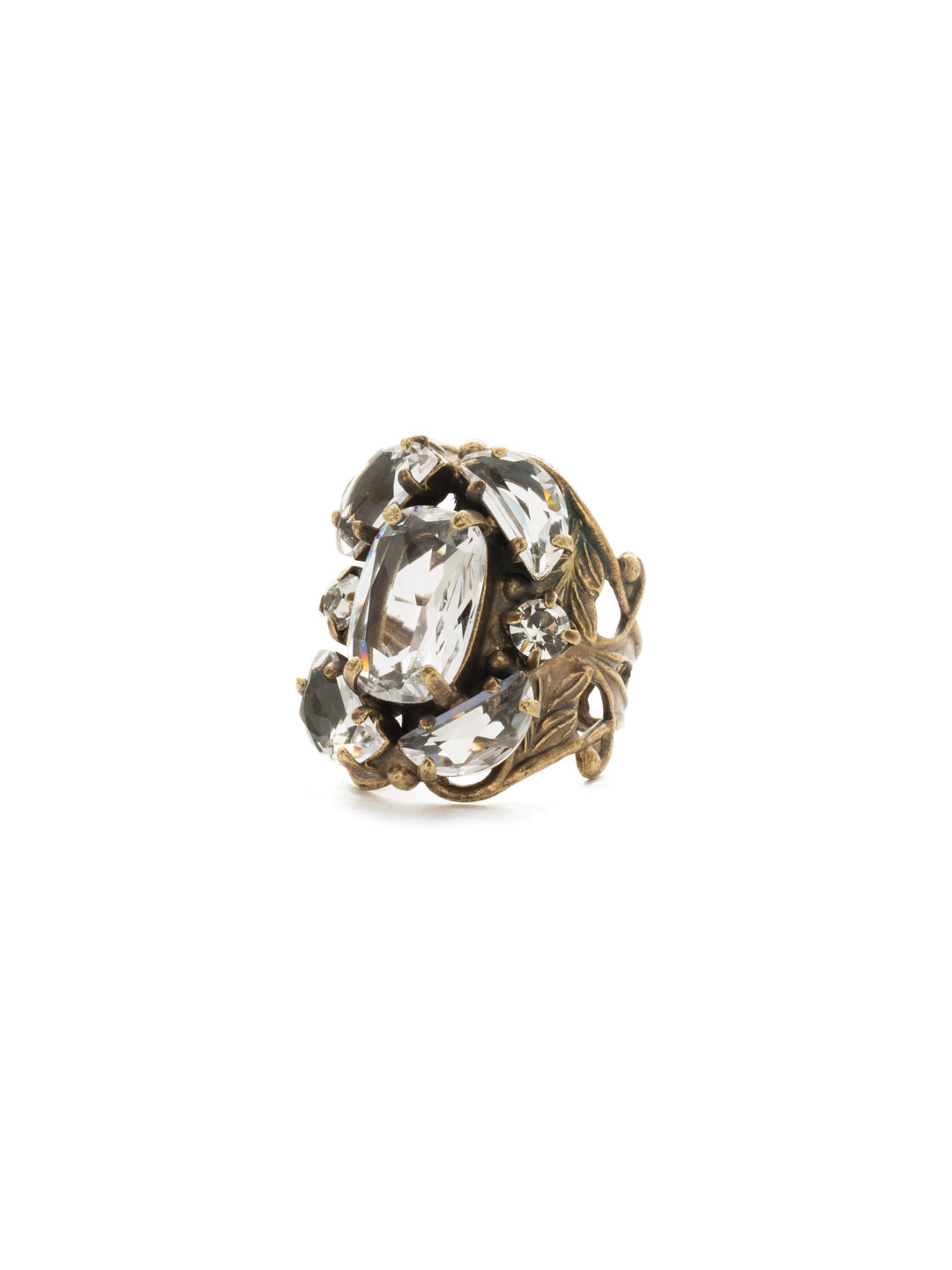 Cutting Edge Statement Ring - RDK35AGCRY