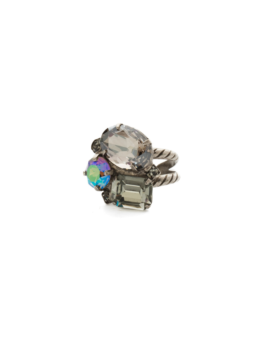 Emerald Cluster Ring - RDN71ASCRO