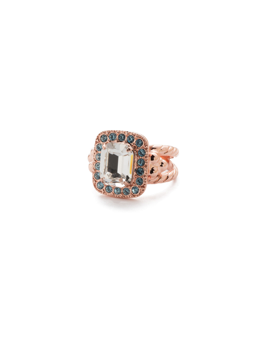 Opulent Octagon Cocktail Ring - RDQ41RGCAZ