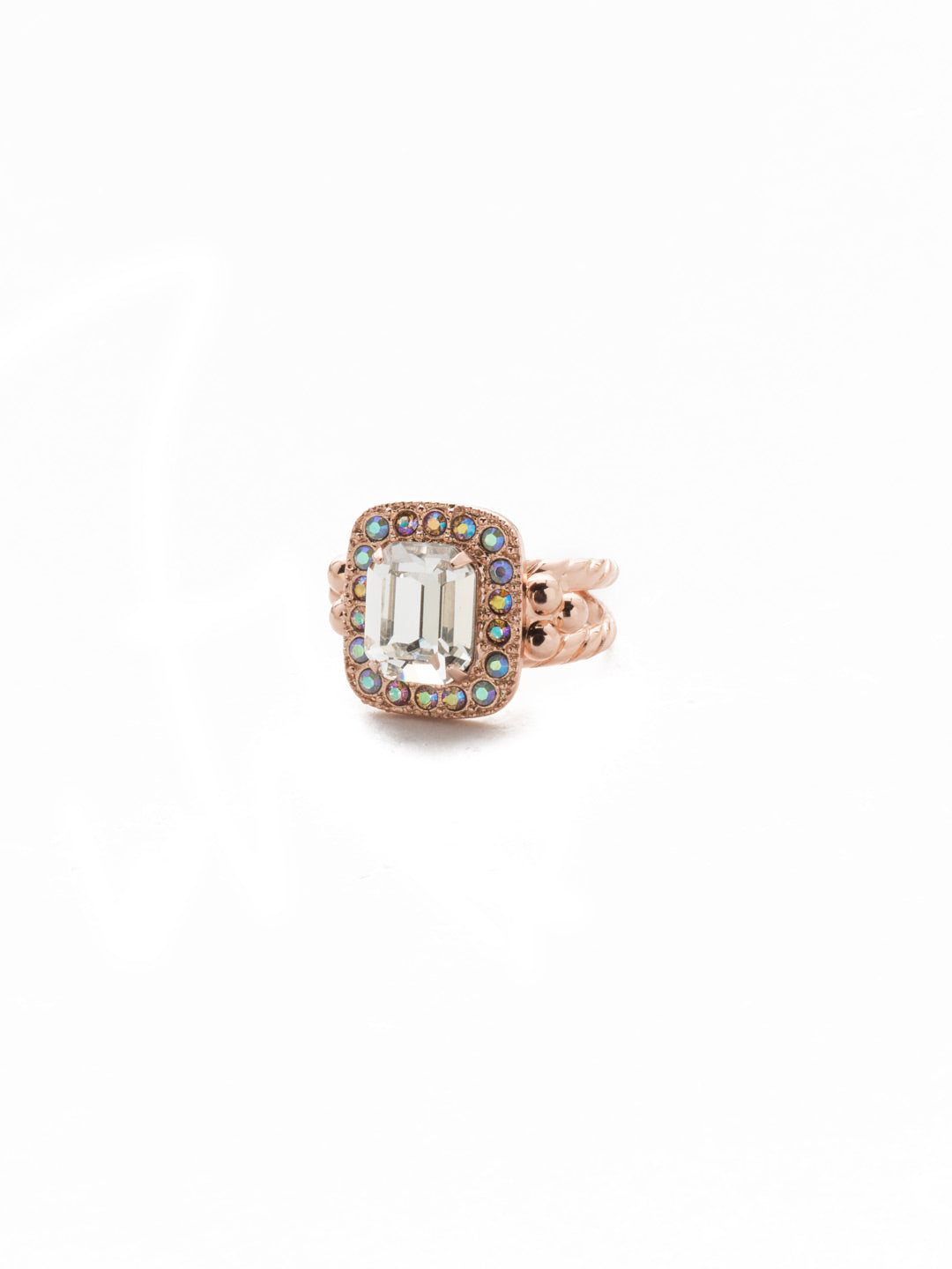 Opulent Octagon Cocktail Ring - RDQ41RGROG