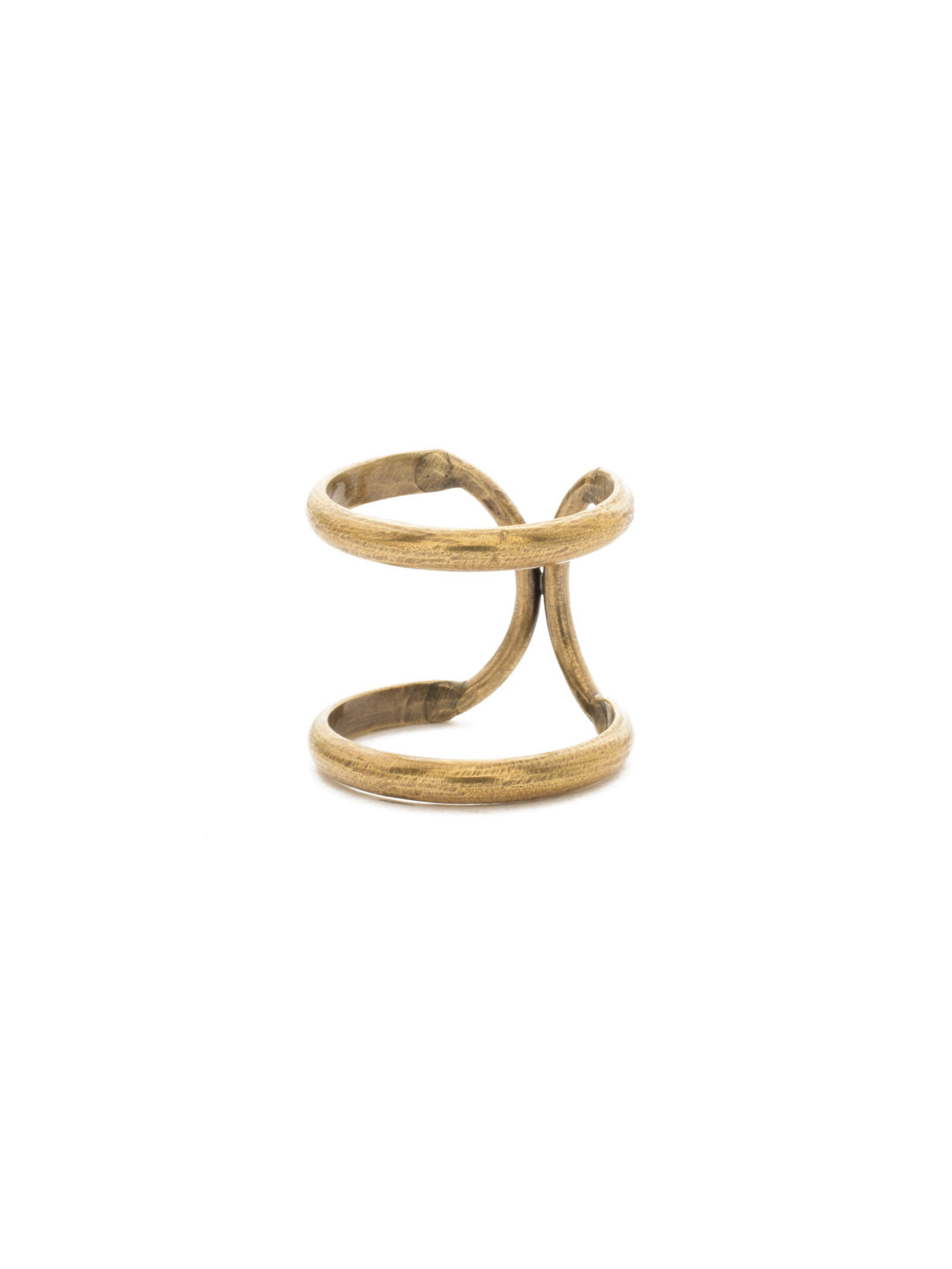 Running In Circles Stacked Ring - RDW3AGCRY