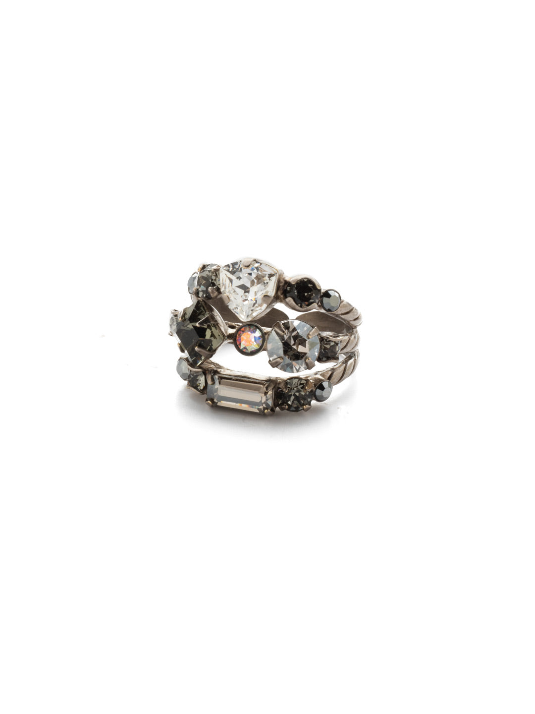 Sedge Stacked Stacked Ring - RDX1ASCRO