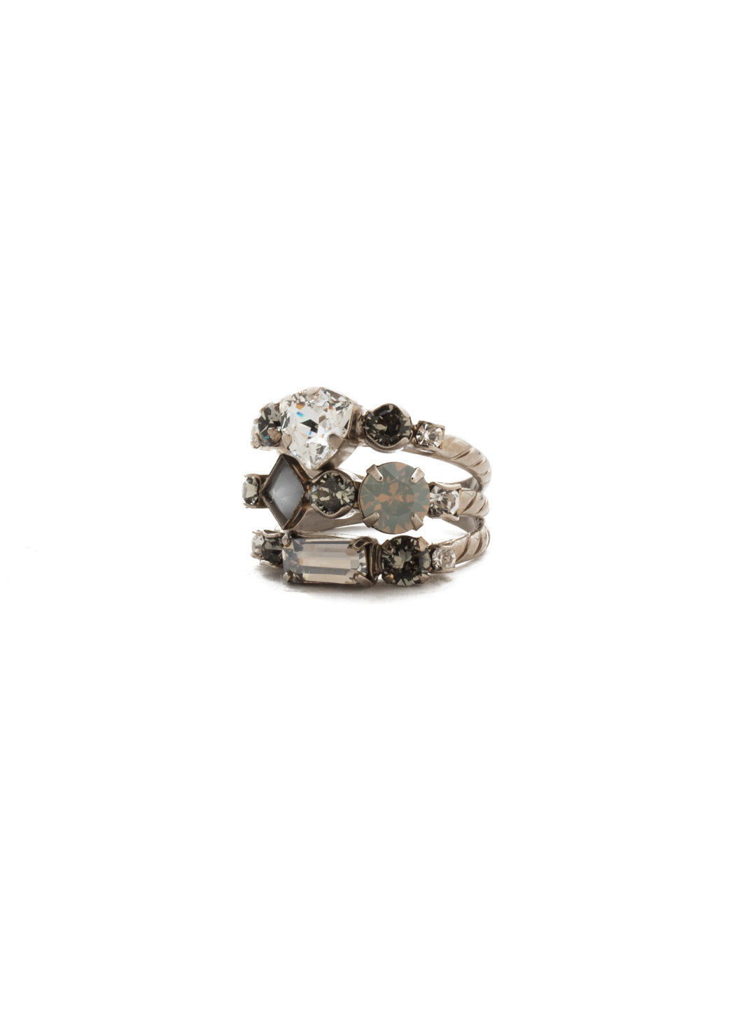 Sedge Stacked Stacked Ring - RDX1ASSTC