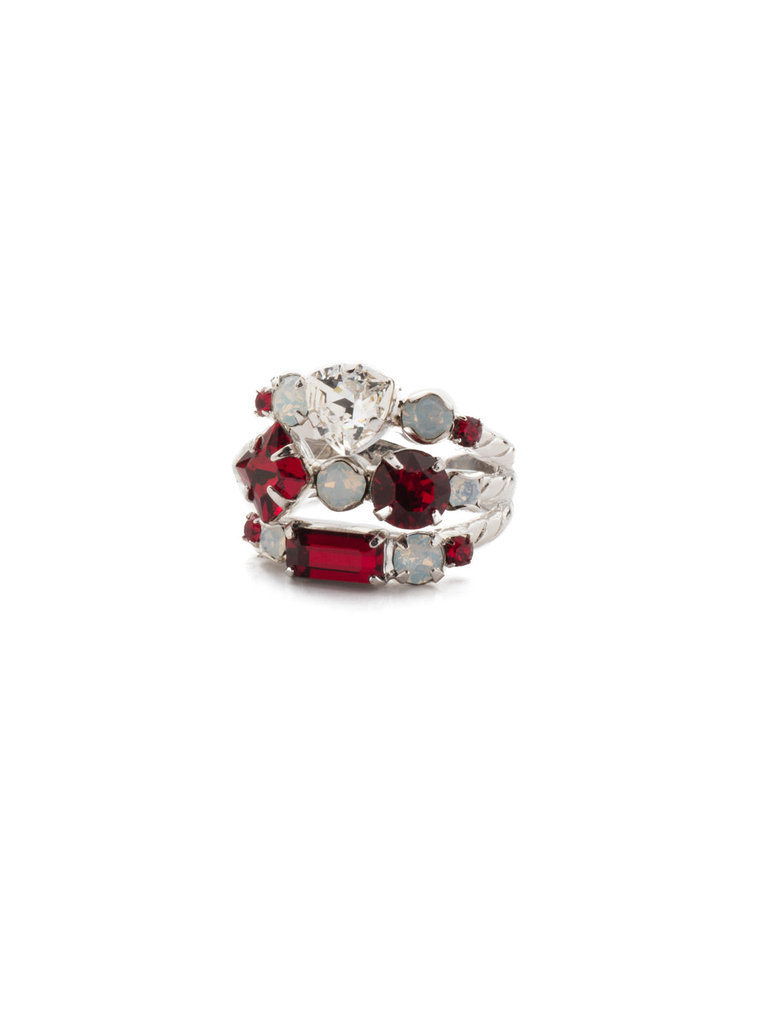 Sedge Stacked Stacked Ring - RDX1RHCP