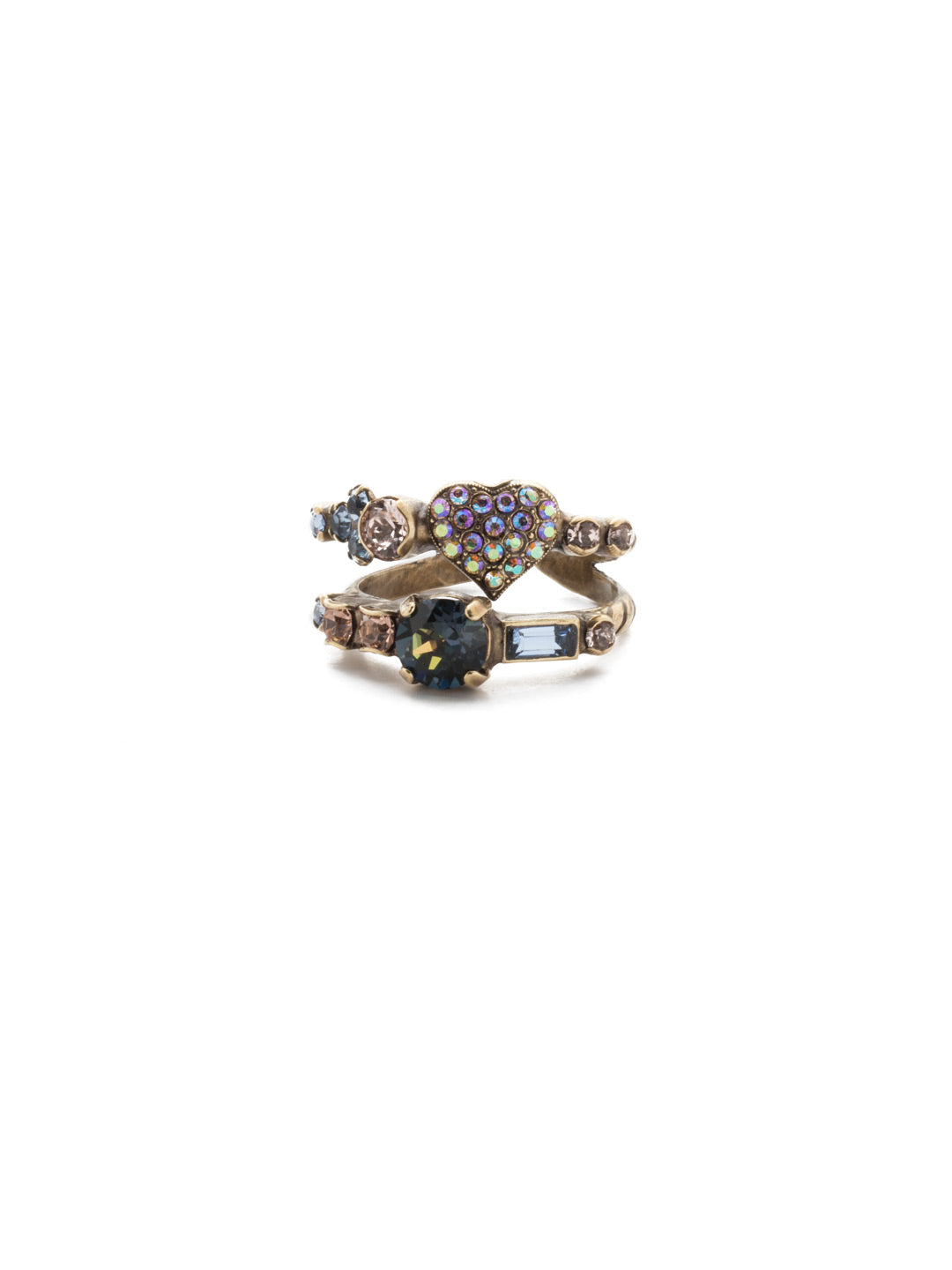 Ishana Stacked Ring - REM4AGSDE
