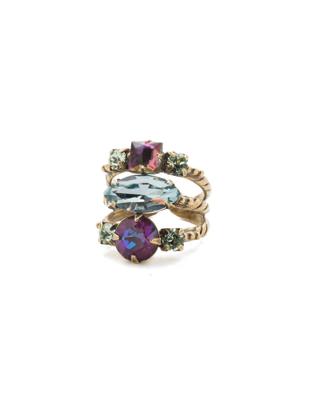 Gloria Stacked Ring - REN12AGIRB