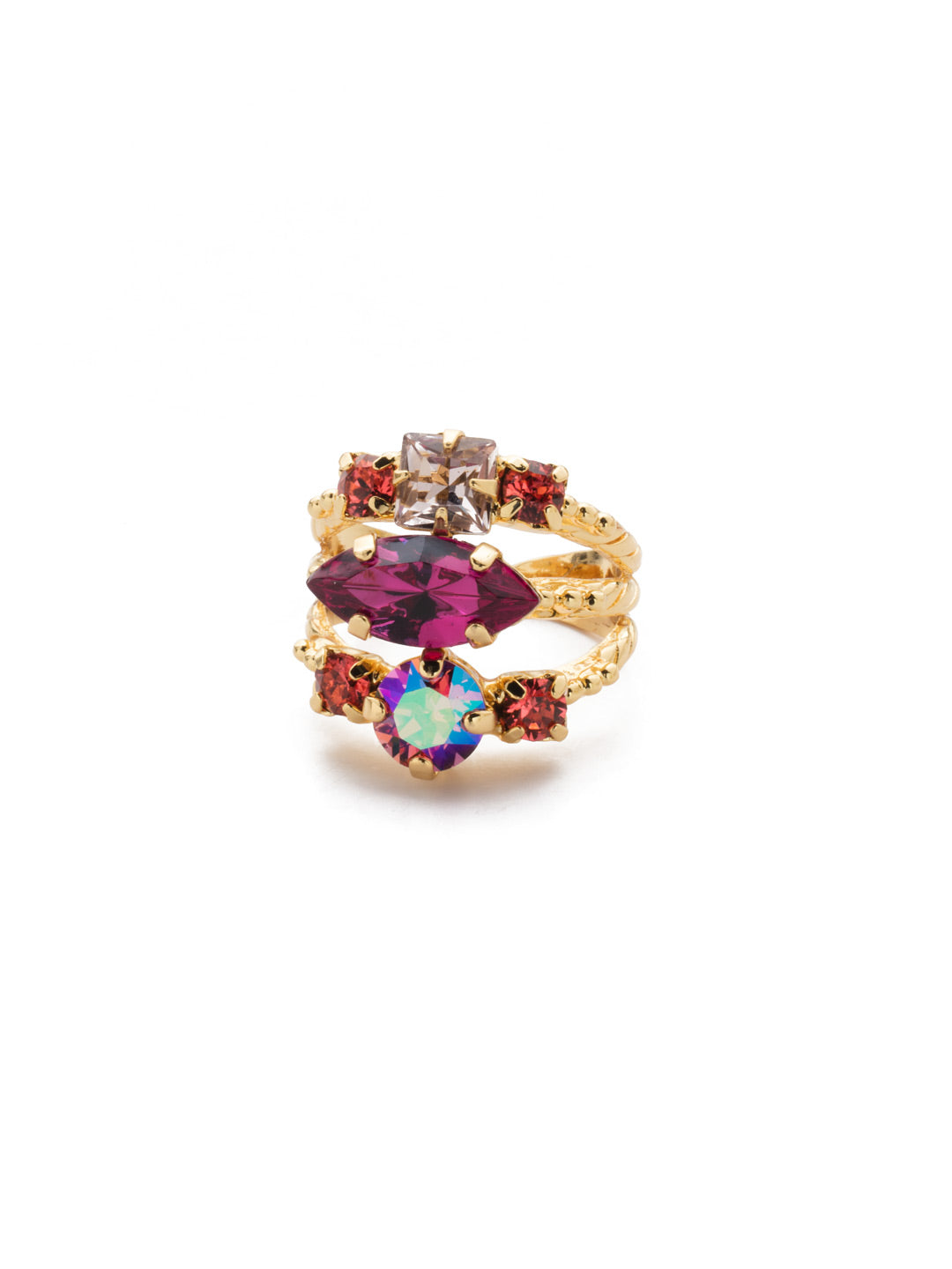 Gloria Stacked Ring - REN12BGBGA
