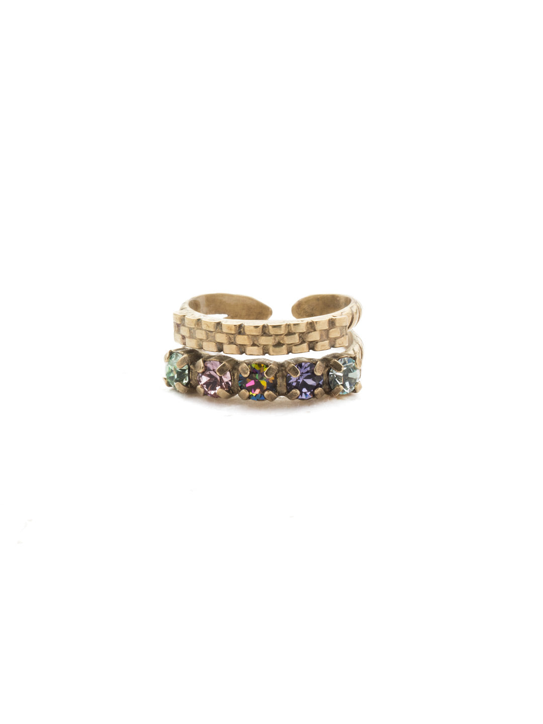 Luann Stacked Ring - REN9AGIRB