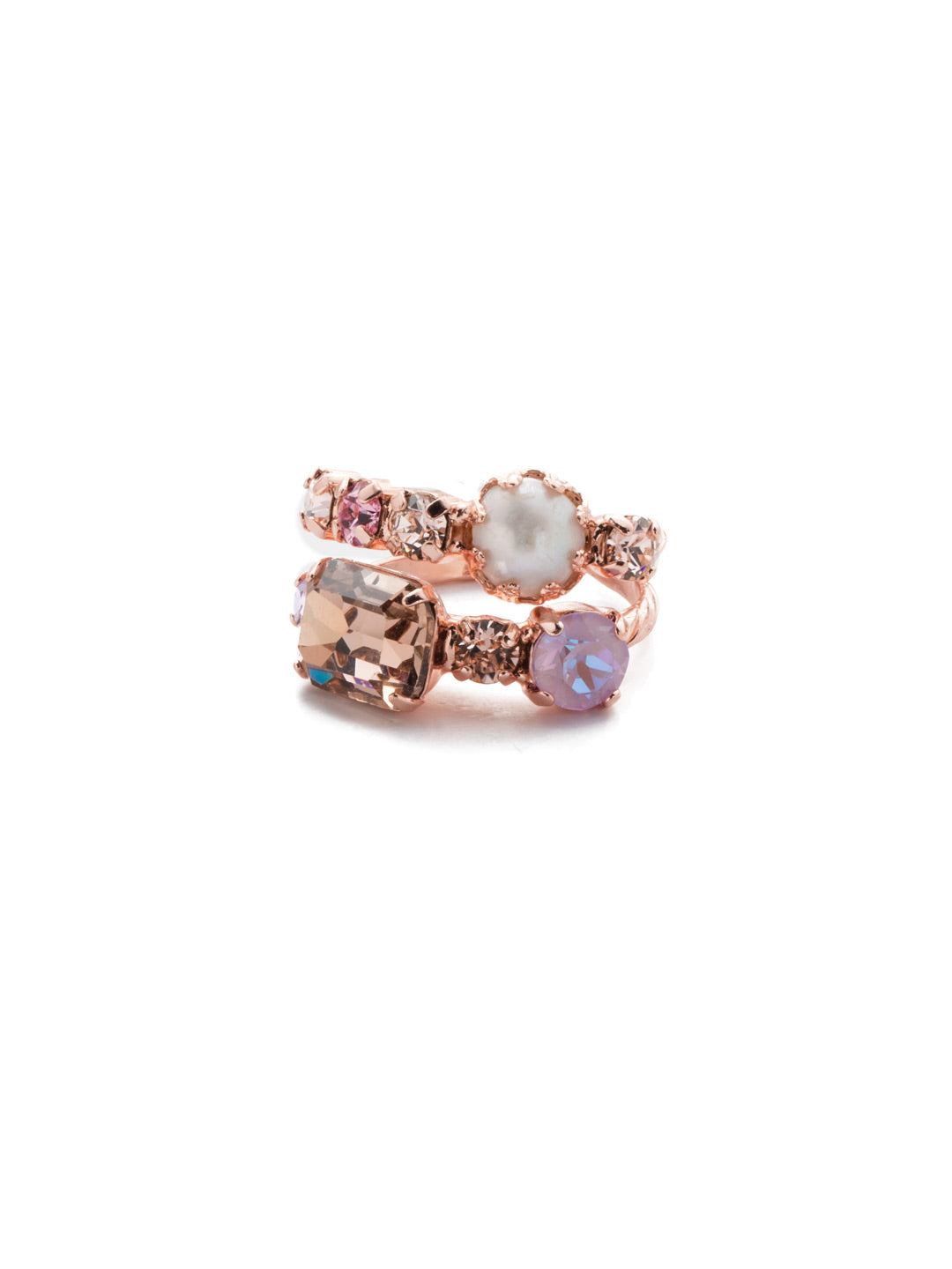 Emmanuella Stacked Ring - RES12RGLVP