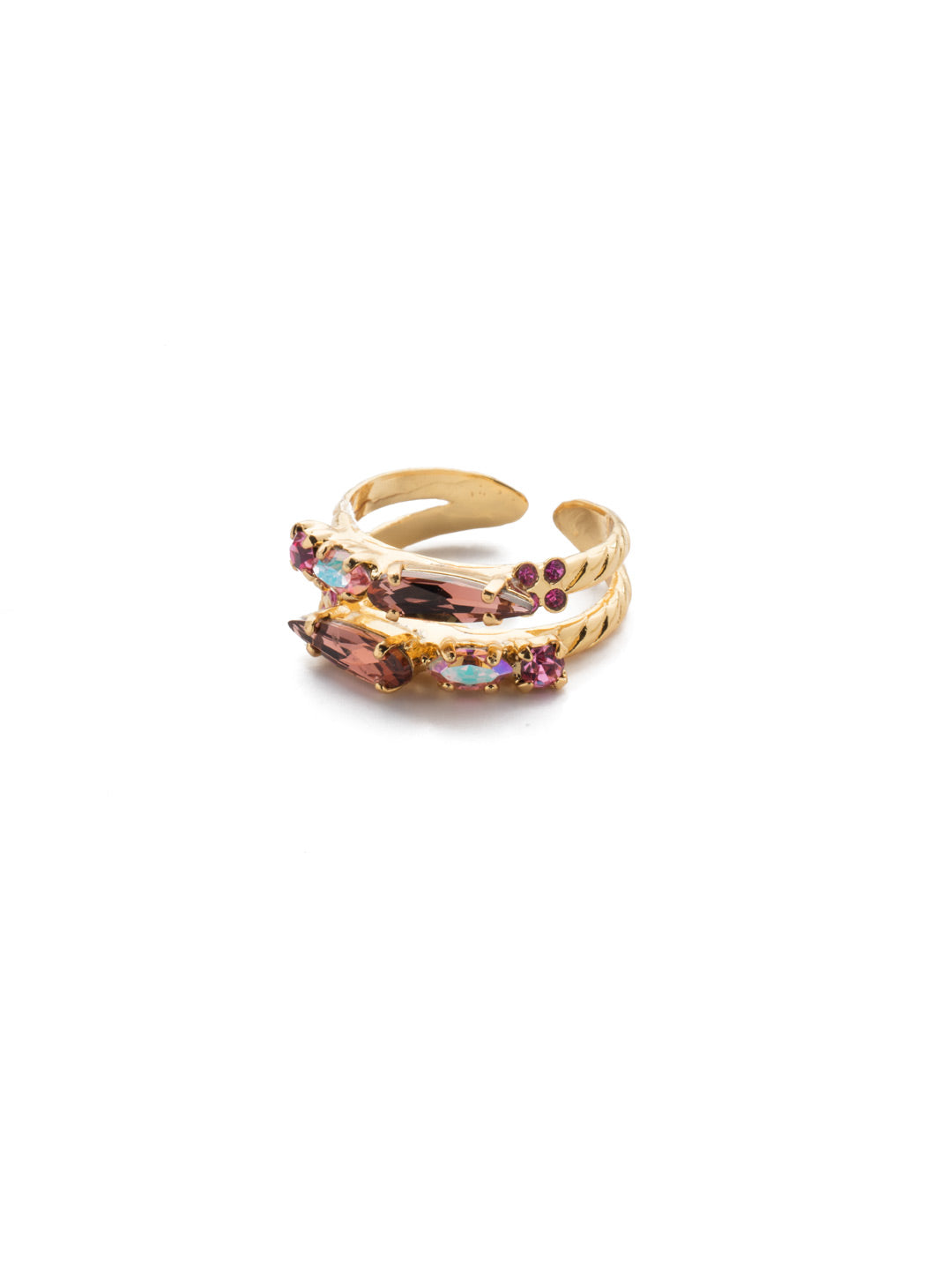 Oleana Stacked Ring - RES18BGBGA