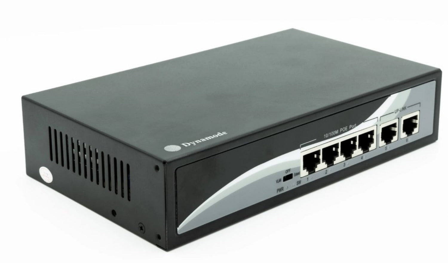 Dynamode SW40010-POE 4 Port Fast Ethernet POE Switch