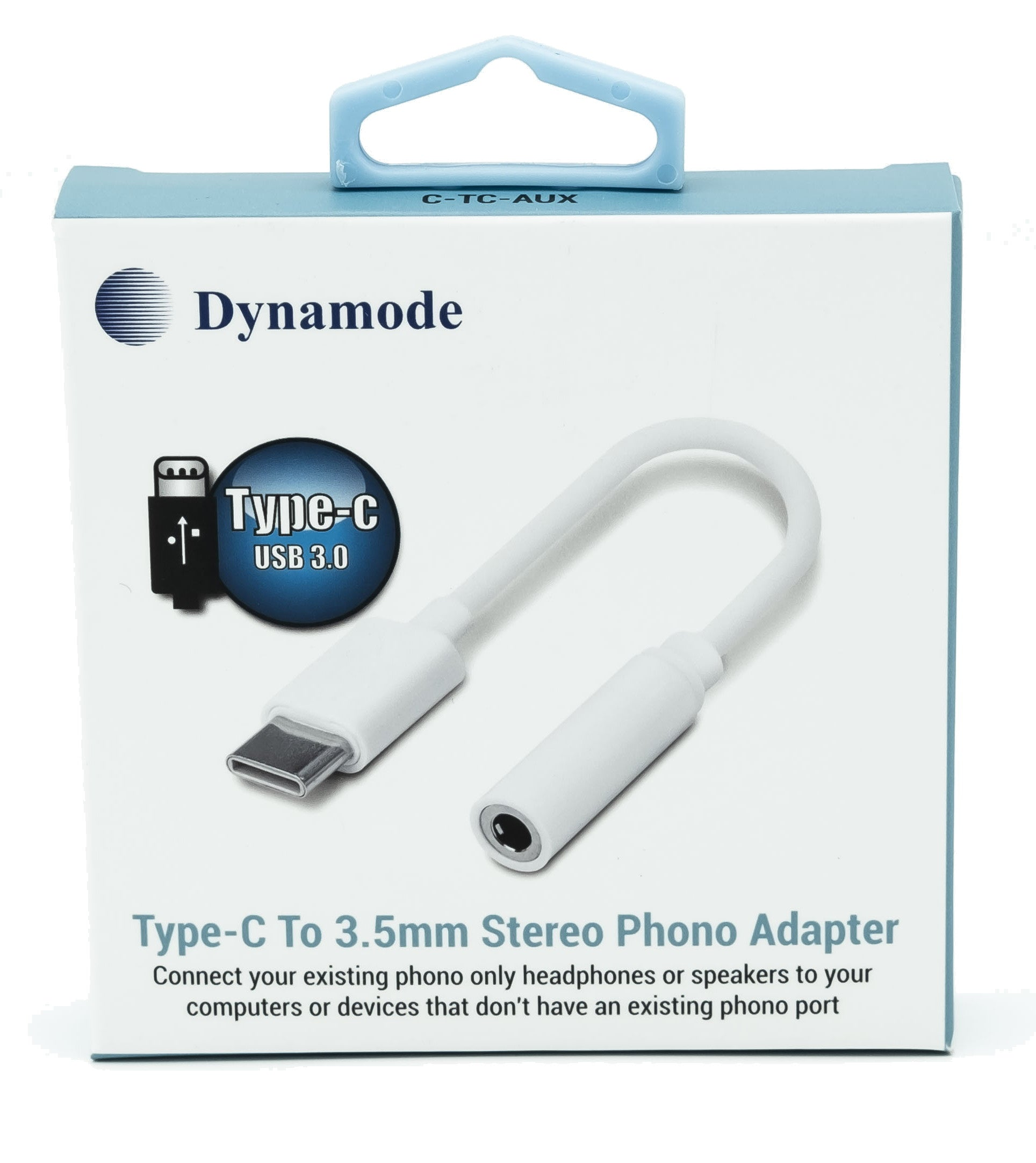 Dynamode C-TC-AUX USB Type-C to Phono Adapter