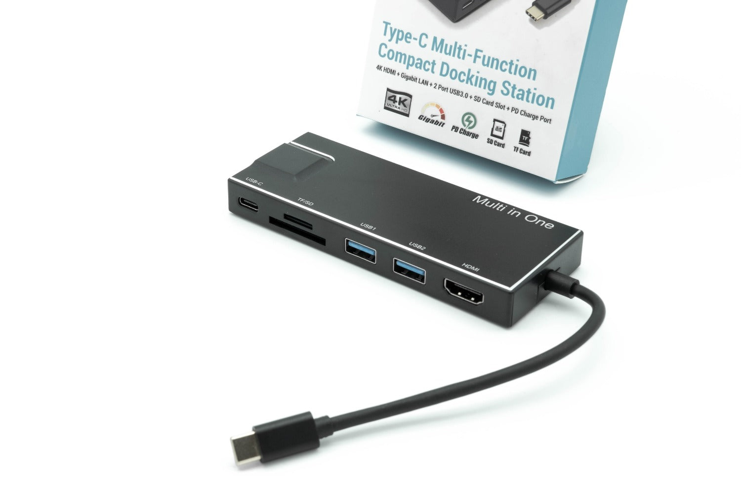 Dynamode C-TC-DK-HDMICR USB Type-C Multifunction Docking Station