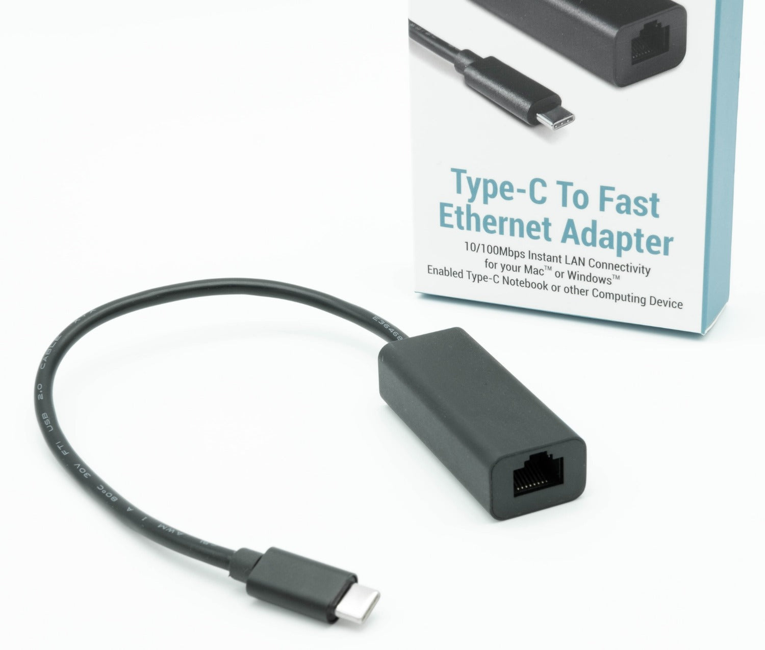 Dynamode C-TC-LAN100 USB Type-C to Fast Ethernet Adapter