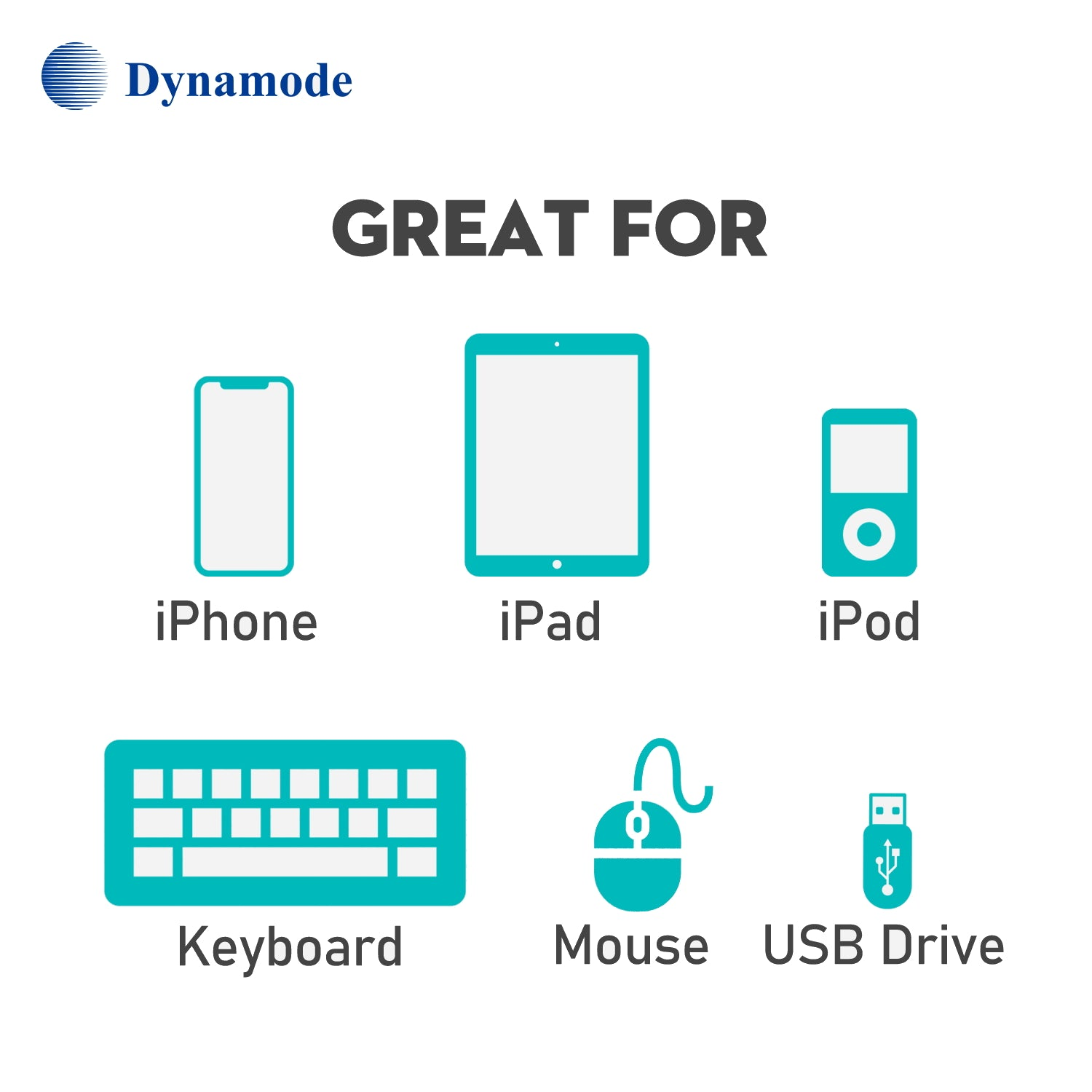 Dynamode C-TC-LIGHT USB Type-C to Lightning Adapter