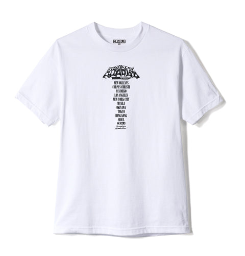 DUNKS Short Sleeve T-Shirt White (Front)