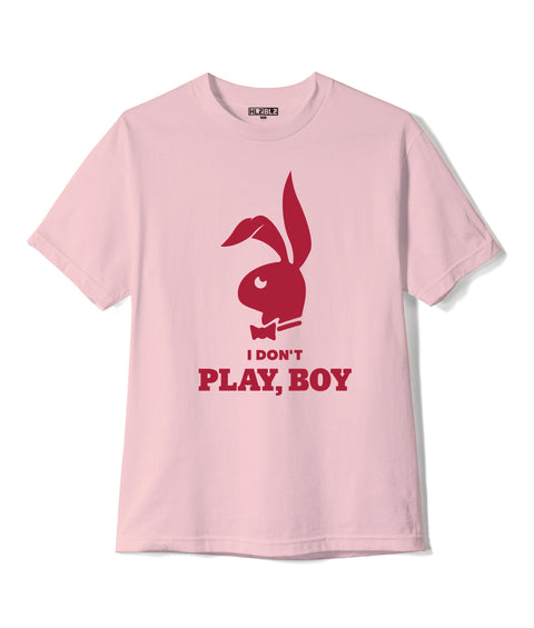 PLAY, BOY Short Sleeve T-Shirt Pink