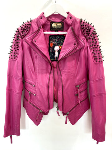 Trelise Cooper hot pink Prickles and Dimes Jacket