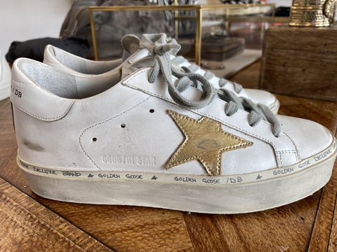 Golden Goose gold star sneakers