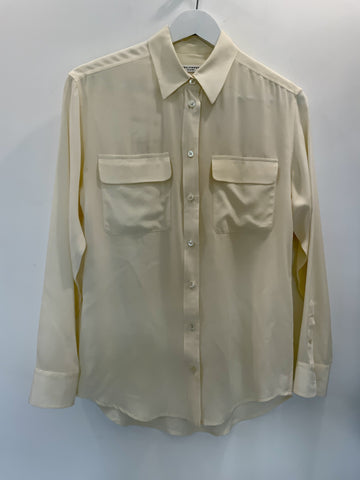Equipment Cream Blouse