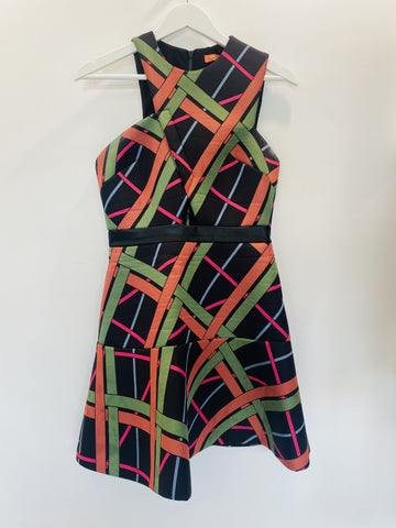Manning Cartell geometric coloured dress