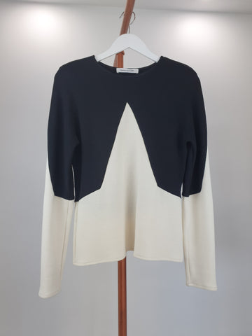 Bianca Spender Wool Knit Top