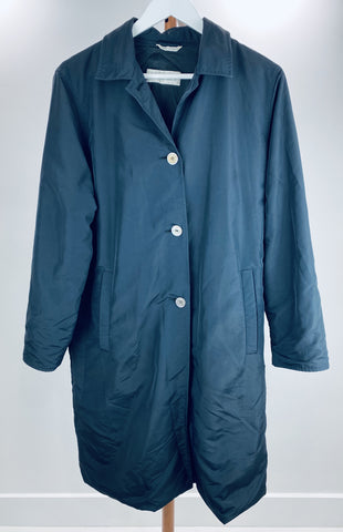 Max Mara navy raincoat