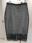 Camilla and Marc Black Net skirt