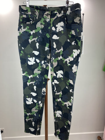 Camilla and Marc green camo jeans