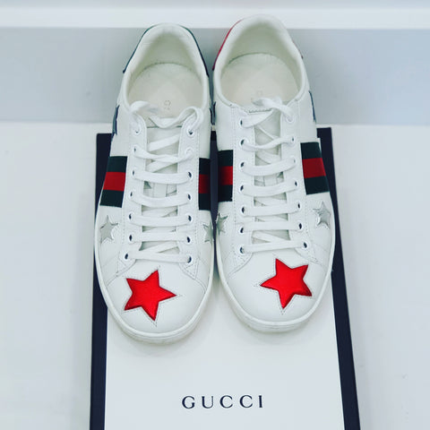 Gucci low top  star sneakers