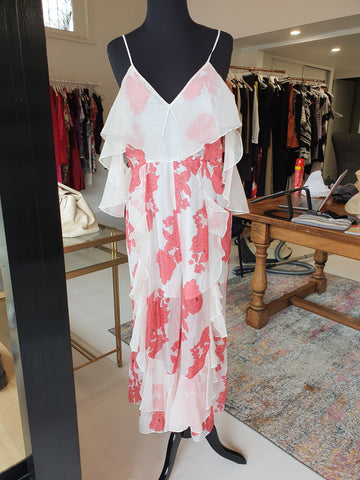 Alice McCall floral red and white jumpsuit
