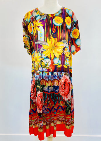 Trelise Cooper floral silk dress