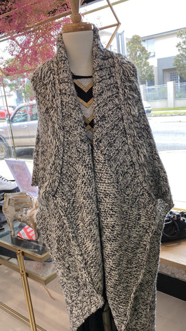 Moda Immagine oversized cardigan