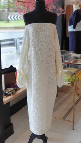 Camilla & Marc cream lace dress