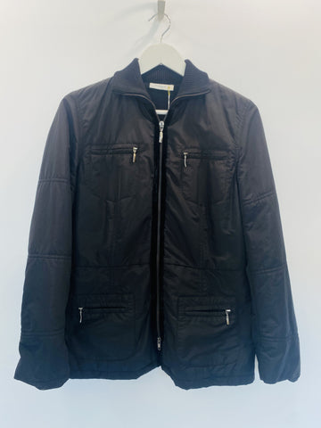 Rivamonti  black zip front jacket