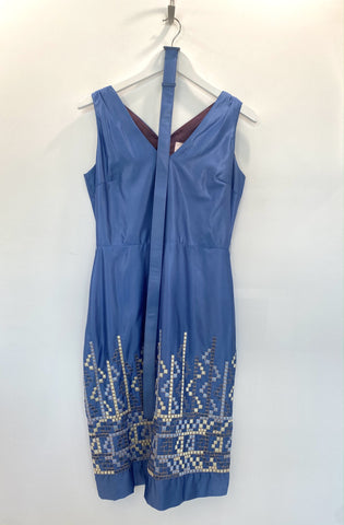 Tocca Blue Dress 8