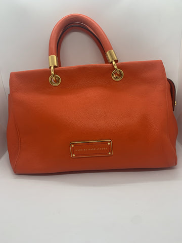 Marc by Marc Jacobs Orange Tote Bag
