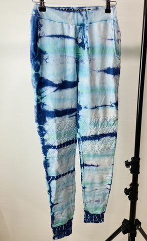 Dream Monstar tie dye blue track pants